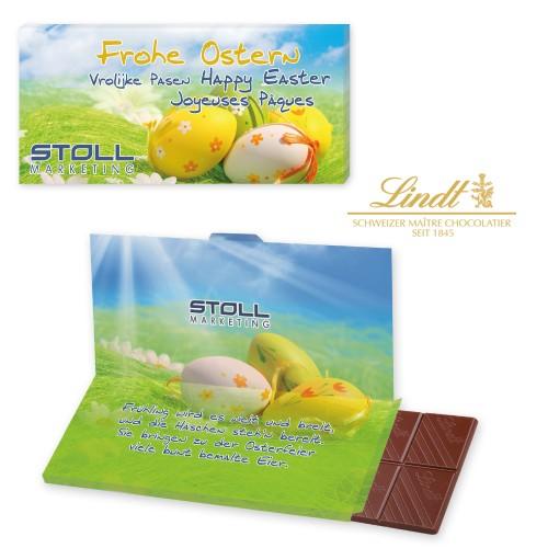 Mailingschokolade, schokoladenbrief, Schokoladenkarte