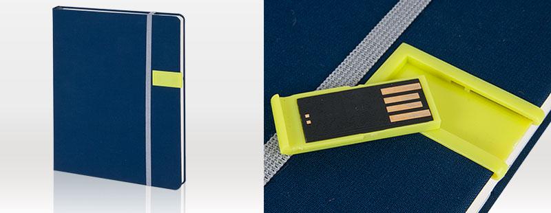 USB-Notizbuch, Notizbuch mit USB,