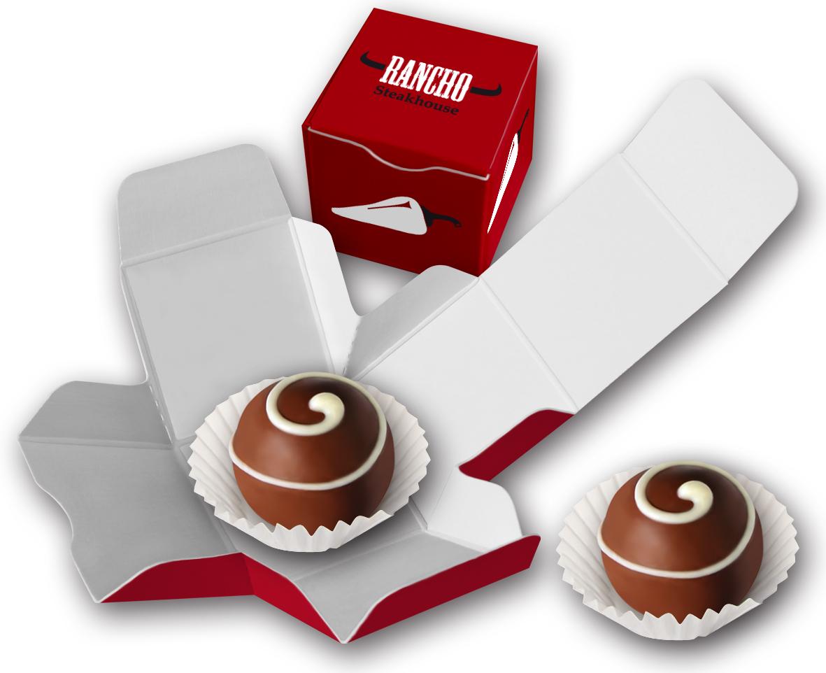 Trüffel, Trueffel, Schokoladentrüffel, Trüffelschokolade, Presentbox, Schokoladenpresent