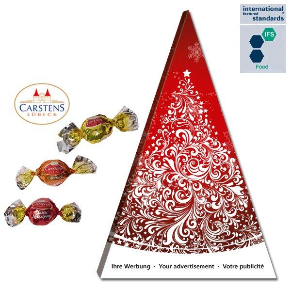 Adventskalender, Pyramiden-Adventskalender, Pyramidenkalender, Schokoladenpyramide