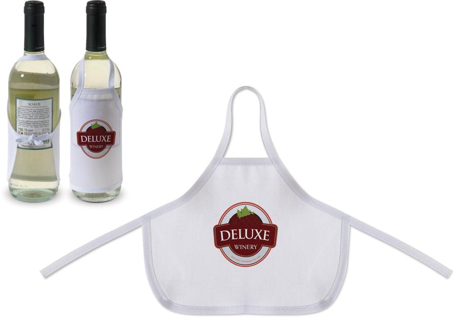 Mini-Schürze, Weinflaschenschürze, Wein-Schürze, Weinflaschenetikett, Wein-etiketten, Flaschenettiketten
