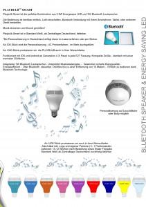licht led led lampe gl hbirne led birne lautsprecher. Black Bedroom Furniture Sets. Home Design Ideas