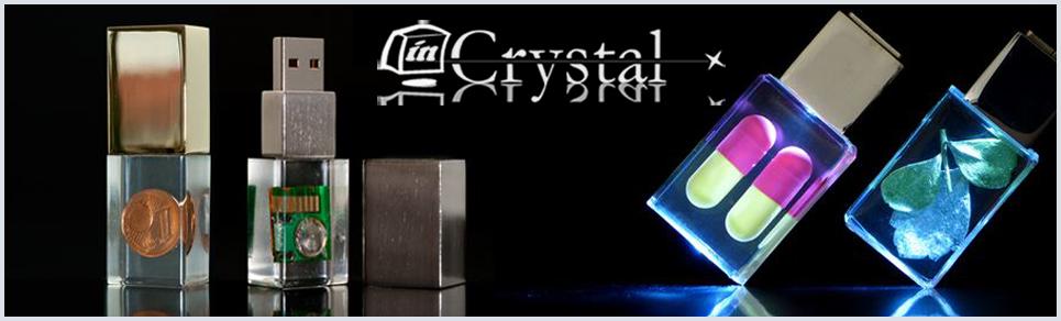USB, USB-Stick, Acryl, Acryl-stick