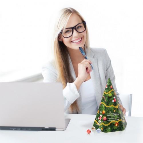 weihnachtsbaum adventskalender 3d und gro idee agent. Black Bedroom Furniture Sets. Home Design Ideas