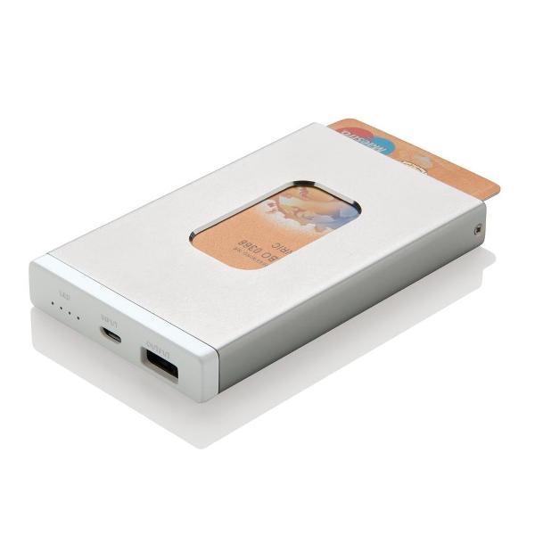 Powerbank mit Kartenhalter