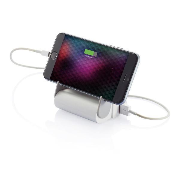 powerbank mit smartphonehalter spiegel und taschenlampe idee agent. Black Bedroom Furniture Sets. Home Design Ideas
