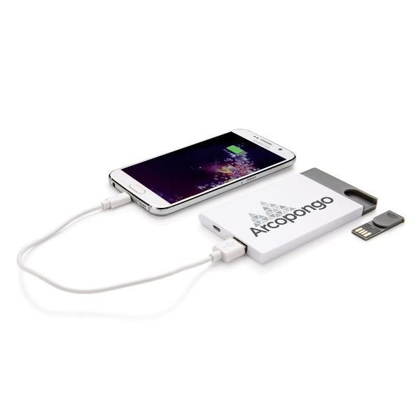 Powerbank mit USB Stick