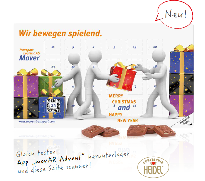 Adventskalender Augmented Reality